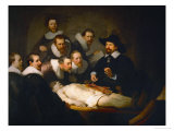 The Anatomy Lesson of Dr. Nicolaes Tulp, 1632, Rembrandt van Rijn, Giclee Print