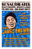James Brown, Baltimore, 1963, Art Print
