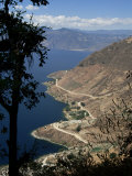 Lake Atitlan, 320M Deep and Ringed by Three Volcanoes, Guatemala, Central America, Photographic Print