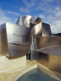 Guggenheim Museum, Designed by American Architect Frank O. Gehry, Opened 1997, Bilbao, Photographic Print
