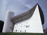 Le Corbusier Chapel, Ronchamp, Haute-Saone, France, Photographic Print