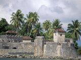 Castillo de San Felipe, Lago de Izabal, Guatemala, Central America, Photographic Print