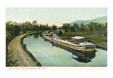 Erie Canal near Schenectady, Art Print