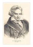 Ludwig Van Beethoven, Art Print