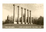 University of Missouri, Columbia, Art Print