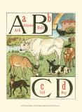Noah's Alphabet I, Art Print, Walter Crane