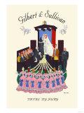 Gilbert & Sullivan: Trial By Jury, Giclee Print