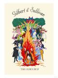 Gilbert & Sullivan: The Sorcerer, Giclee Print
