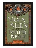 Twelfth Night Theatre Poster, Giclee Print