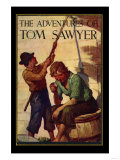 The Adventures of Tom Sawyer, Giclee Print