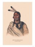 Esh-Ta-Hum-Leah (A Sioux Chief), Giclee Print