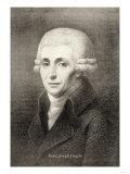 Franz Joseph Haydn, Giclee Print
