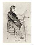 Franz Liszt, Giclee Print