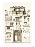 The Propylaea of the Acropolis at Athens, Giclee Print