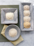 Assorted Types of Rice, Photographic Print