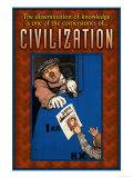 Civilization, Giclee Print