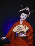 Geisha Dancer Photo Print