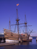Pilgrim ship Mayflower, Plymouth, MA Giclee Print