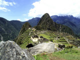 Inca Ruins at Machu Picchu, Photographic Print