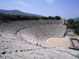 Theatre at Peloponnesos, Epidaurus, Greece, Photographic Print