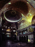 Interior Shot of Hagia Sophia, Photographic Print