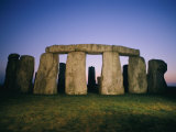 Stonehenge was built in four stages beginning sometime around 3,100 B.C. Photographic Print