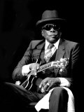 John Lee Hooker, Limited Edition on Canvas