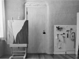 Georgia O'Keeffe's Studio, Ghost Ranch, New Mexico, Photographic Print