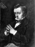 Painting of English Writer Wilkie Collins, Giclee Print