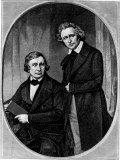 Jacob & Wilhelm Grimm, Giclee Print