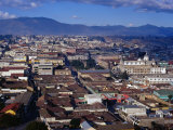 Cityscape of Guatemala's Second Largest City, Quetzaltenango, Guatemala, Photographic Print