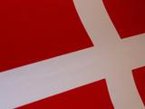 Denmark Flag, Photographic Print