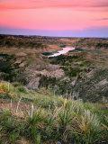 View from Woodhawk Point, Missouri River, Upper Missouri Breaks National Monument, Montana, USA Photographic Print
