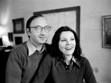 Playwright Neil Simon and 2nd Wife Marsha Mason at Home, Photographic Print