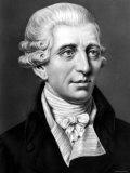 Engraved Portrait of Austrian Composer Franz Joseph Haydn, Photographic Print