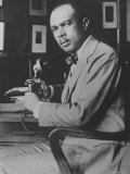 Author James Weldon Johnson Published First Book of Poetry in 1917, Photographic Print