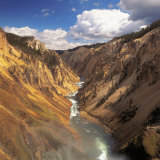 Yellowstone River, Yellowstone National Park, WY, Photographic Print
