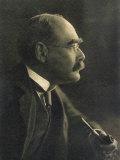 Rudyard Kipling, English Writer, Giclee Print