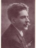 Enrico Toselli, Italian Composer Best Known for His Serenata, Photographic Print