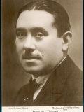 Joaquin Turina, Spanish Composer, Photographic Print