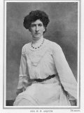 Margot Asquith, (nee Emma Alice Margaret Tennant), Second Wife of H H Asquith, Married 1894, Giclee Print