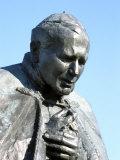 Ludzmierz Sanctuary, Pope John Paul II Statue, Giclee Print