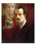 Khalil Gilbran, Self Portrait with Muse, Giclee Print