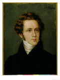 Hector Berlioz, French Composer, Giclee Print