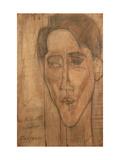 Jean Cocteau by Amedeo Modigliani, Giclee Print