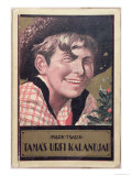 Book Cover of a Hungarian Translation of Tom Sawyer by Mark Twain, Giclee Print