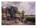 The Hay-Wain (With Willy Lott's Cottage by Flatford Mill), 1821, John Constable, Giclee Print