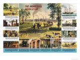 The Industrial Revolution, Giclee Print, Illustrator Ronald Lampitt