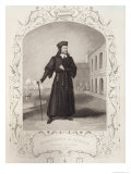 Mr Macready as Shylock, Act I Scene 3, in The Merchant of Venice by William Shakespeare, Giclee Print