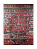 Mandala of Amoghapasa, Giclee Print